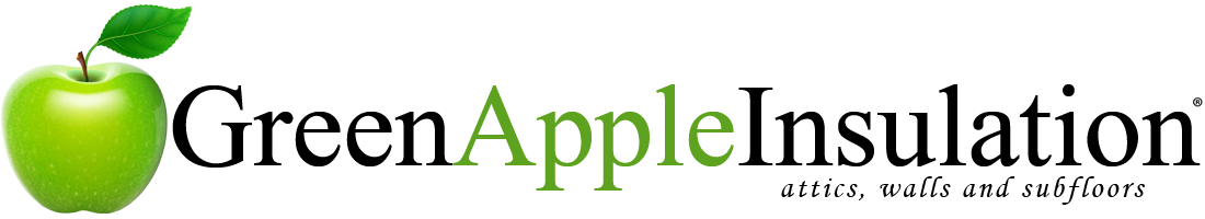 Green Apple Insulation | (833) 602-3626 Logo