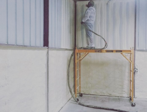 Insulating a Metal Building With Closed Cell Spray Foam