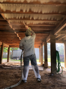 Subfloor Spray Foam Insulation
