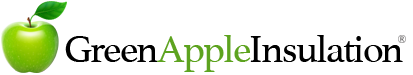 Green Apple Insulation | (504) 377-8094 Logo