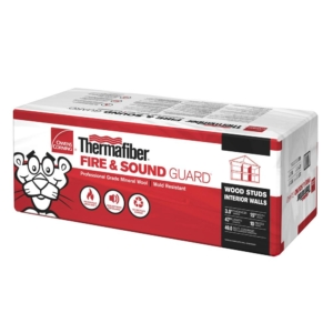 Owens Corning Thermafiber Fire and Sound Guard Mineral Wool Insulation Batt 15 in. x 47 in.